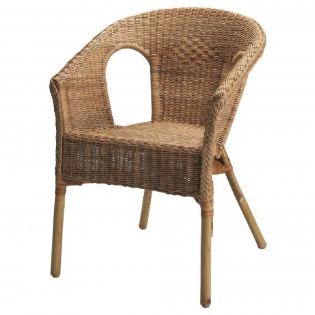 Кресло АГЕН ротанг, бамбук фото 3