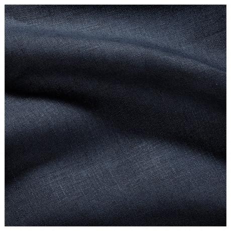 Ткань АЙНА темно-синий фото 4