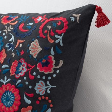Подушка   темно-серый, разноцветный фото 5